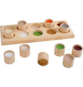 Montessori sensory touch base