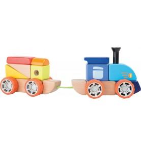 Materiel Montessori : jeux de construction enfant