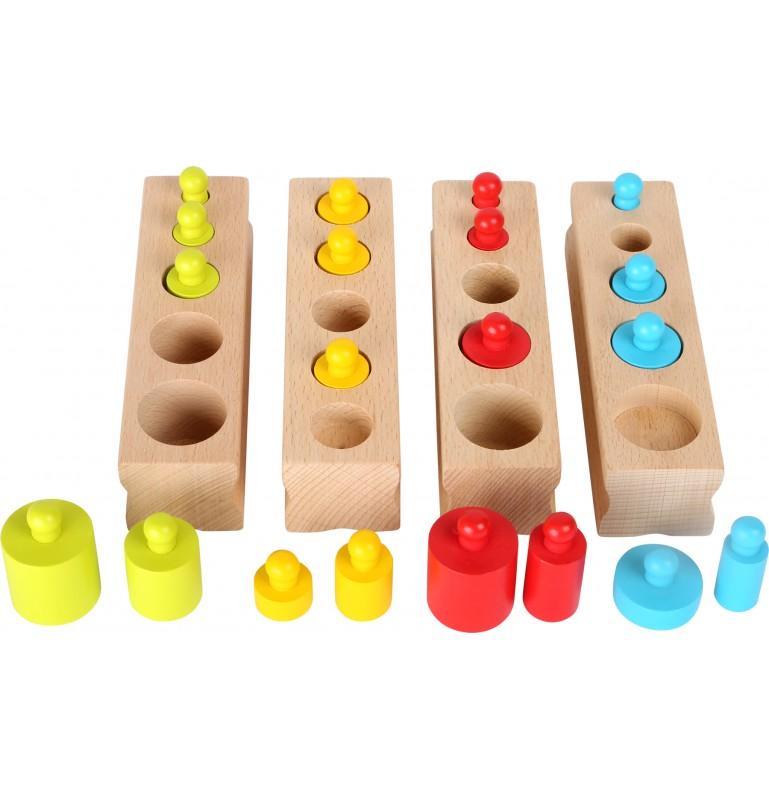 Matériel Montessori : Poids et mesure