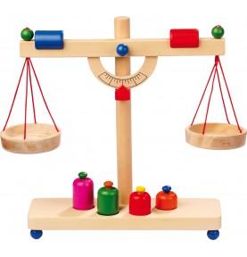 Wooden balance + Montessori...