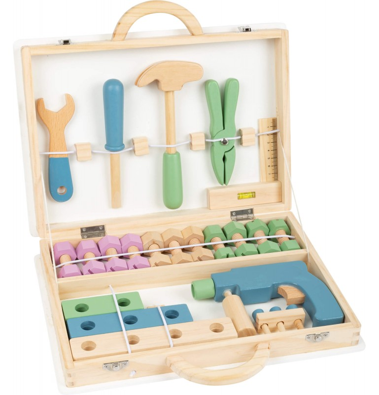 Matériel Montessori : Boîte à outils - Bricolage