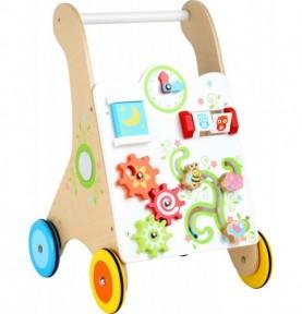 aide à la marche bébé : trotteur pousseur