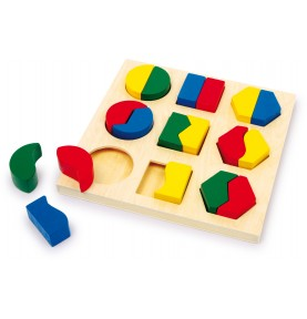 Puzzle Montessori en bois