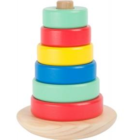 Tour d'éveil Montessori : Jeu en bois