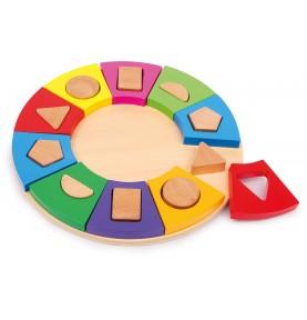 Puzzle forme montessori