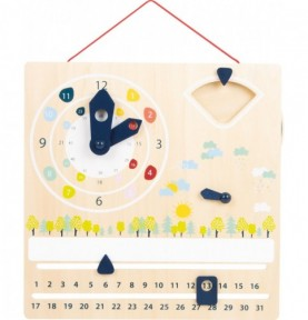 Apprendre l'heure : Montessori