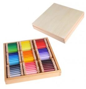 Montessori - Apprentissage couleur