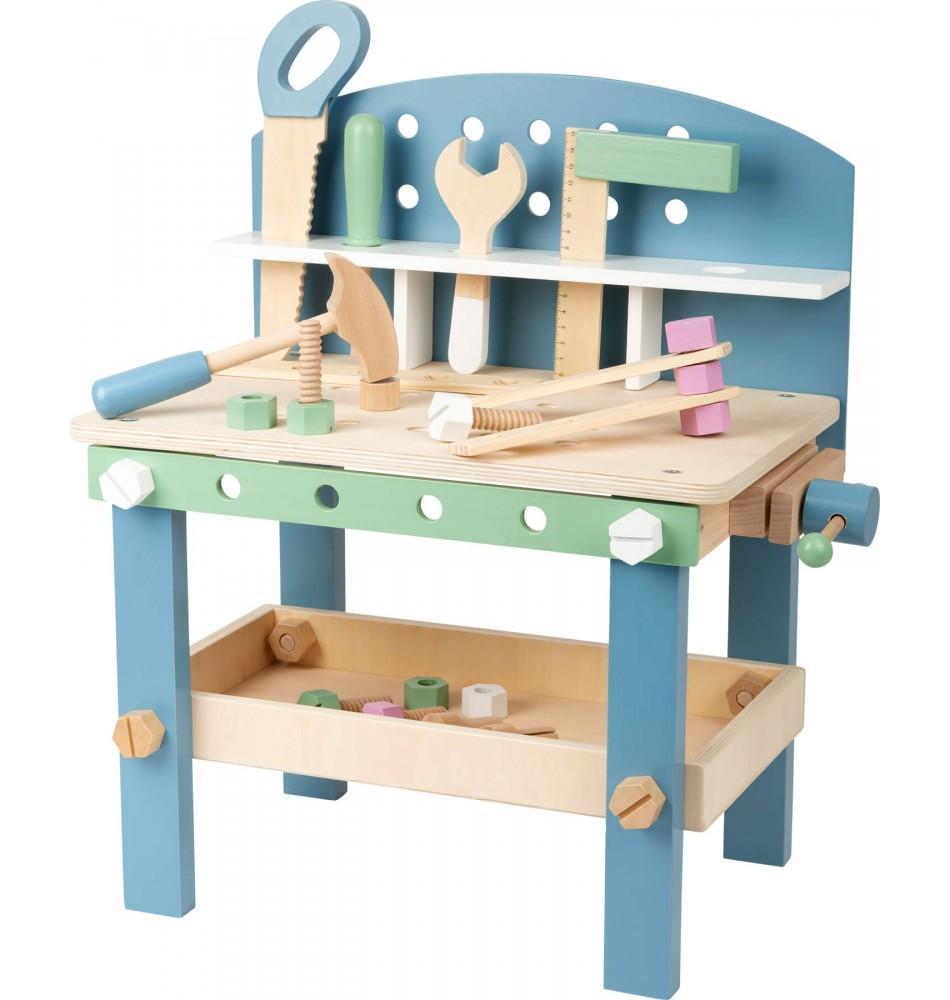 Bricolage enfant : établi en bois jouet