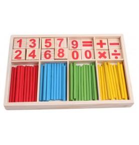 Coffret d'arithmetique Montessori