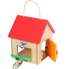 Wooden Lock box Montessori