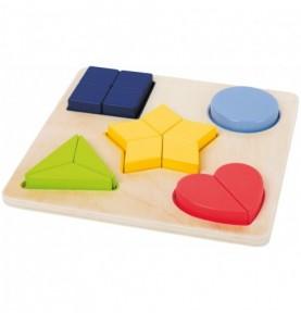 Jouet Montessori : Puzzle formes