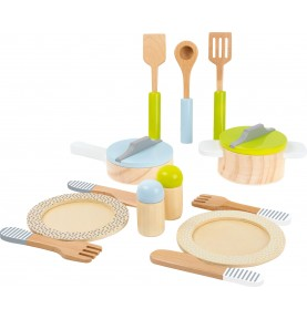 Jouet Montessori - Dinette en bois
