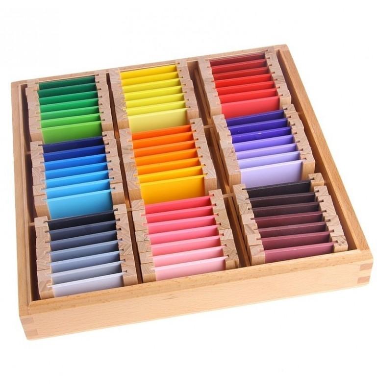 Apprendre les couleurs - Montessori méthode