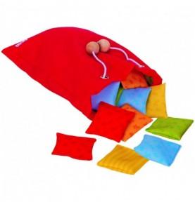 Jouet montessori : Sac sensorielle avec coussin