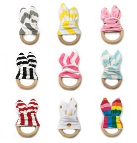 Montessori teething ring -...