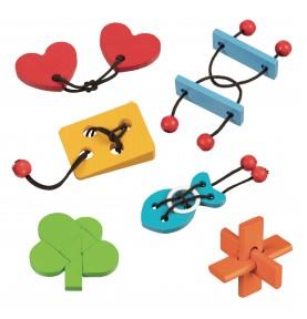 Ballotin Puzzle - 2 Blue Bars