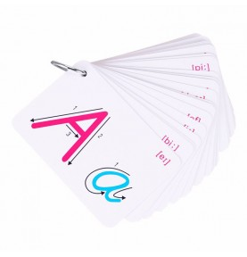 Cards for Learning Letters...