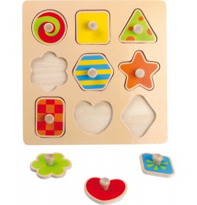 Montessori Baby Puzzle 9...