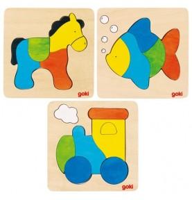 Color Puzzle-  4/5 pieces