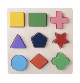 Shape puzzle - Embedded puzzle