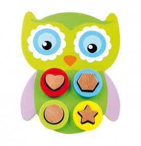 Owl Recessed shapes