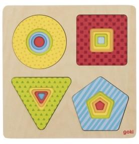 Shape puzzle - Multi-story...