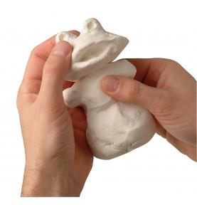 Hardening modeling clay