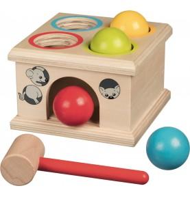 Hammer box - 4 balls