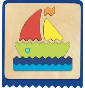 Baby boat puzzle