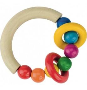 anneaux dentition bois