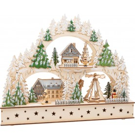 Grand village de Noël...