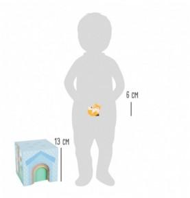 Maisons des animaux à empiler - Pastel Montessori