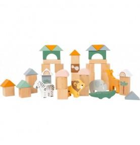 Jeu de construction - Safari Montessori