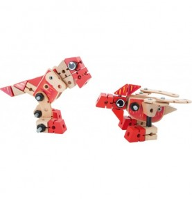 Jeu de construction 3D - Dinosaure Montessori