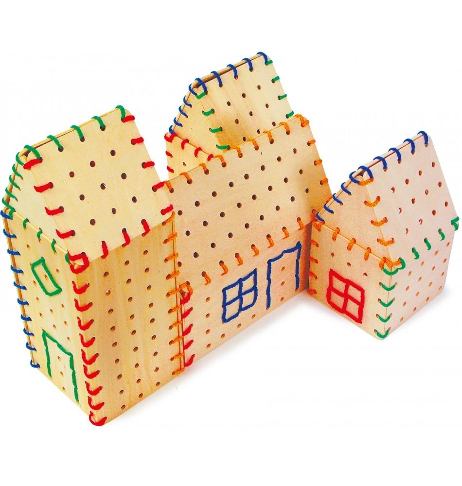 Jeu de laçage - Montessori Montessori
