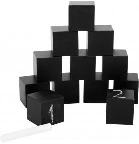 12 Cubes Ardoises