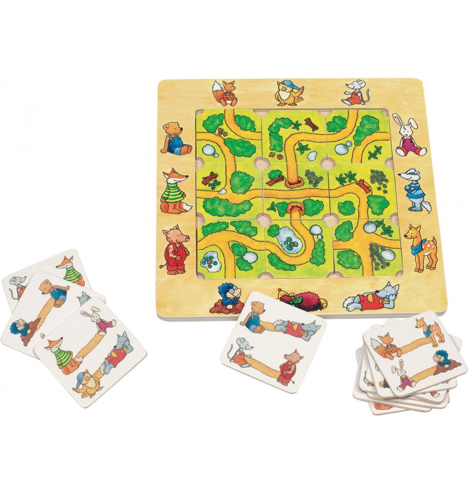 Jeu des chemins (Must Have!) Montessori