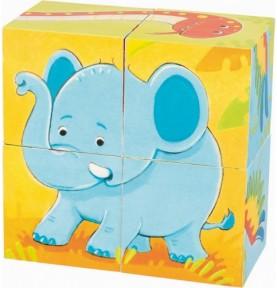 Puzzle de cubes
