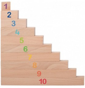 Réglettes de calcul Montessori