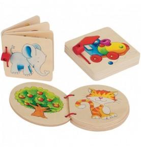 P'tit Imagier en bois  Montessori