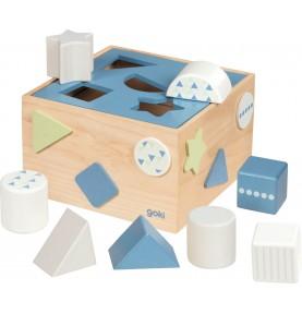 Boîte à formes Bleue
