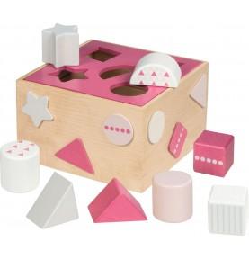 Boîte à formes Framboise