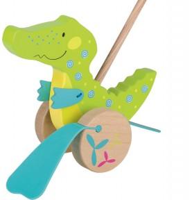 Crocodile - Jeu à pousser