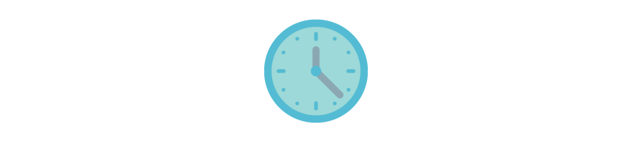 How do youlearn to tell the time? With our Learning Clock!